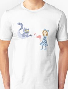 Alice and Cheshire Cat T-Shirt