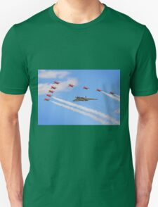 Final Vulcan Flight with The Red Arrows -  9 T-Shirt