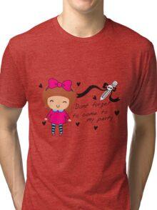 sweety girl Tri-blend T-Shirt