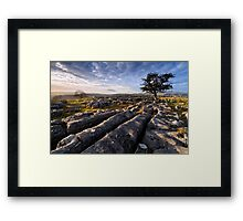 Limestone Country, Ribblesdale - The Yorkshire Dales Framed Print