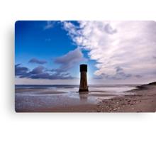 Humber Estuary - Tides Out Canvas Print