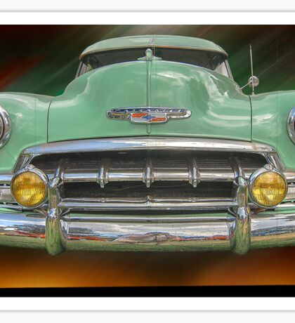 Child of the 50's - 1952 Chevrolet Deluxe Sticker