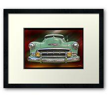 Child of the 50's - 1952 Chevrolet Deluxe Framed Print