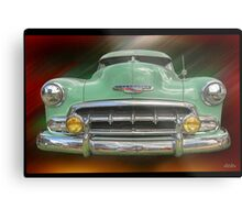 Child of the 50's - 1952 Chevrolet Deluxe Metal Print