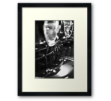 Bumper reflection Framed Print