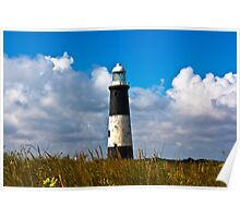 Spurn Point Lighthouse Poster