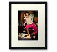 Spirit of an Artist Framed Print