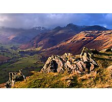 Great Langdale - The Lake District Photographic Print