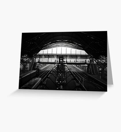 Southern Cross Station Pod Greeting Card