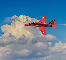 Red Arrow Through The Skies by Paul Madden