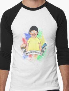 Gene Belcher Men's Baseball ¾ T-Shirt