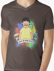 Gene Belcher Mens V-Neck T-Shirt