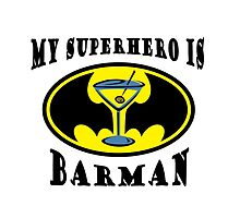 My superhero is Barman by YellowLion
