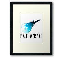 Final Fantasy VII Framed Print