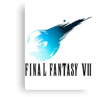 Final Fantasy VII Canvas Print