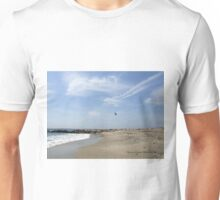 Helicopter Flying Over Watch Hill Unisex T-Shirt