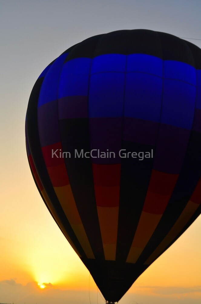 Balloon Over Paradise by Kim McClain Gregal