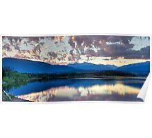 Lake Dillon Panorama Poster