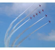Red Arrows display Photographic Print