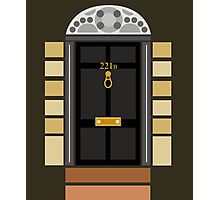221b Baker Street (Door) Photographic Print