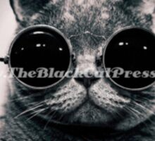 The Black Cat Press Sticker