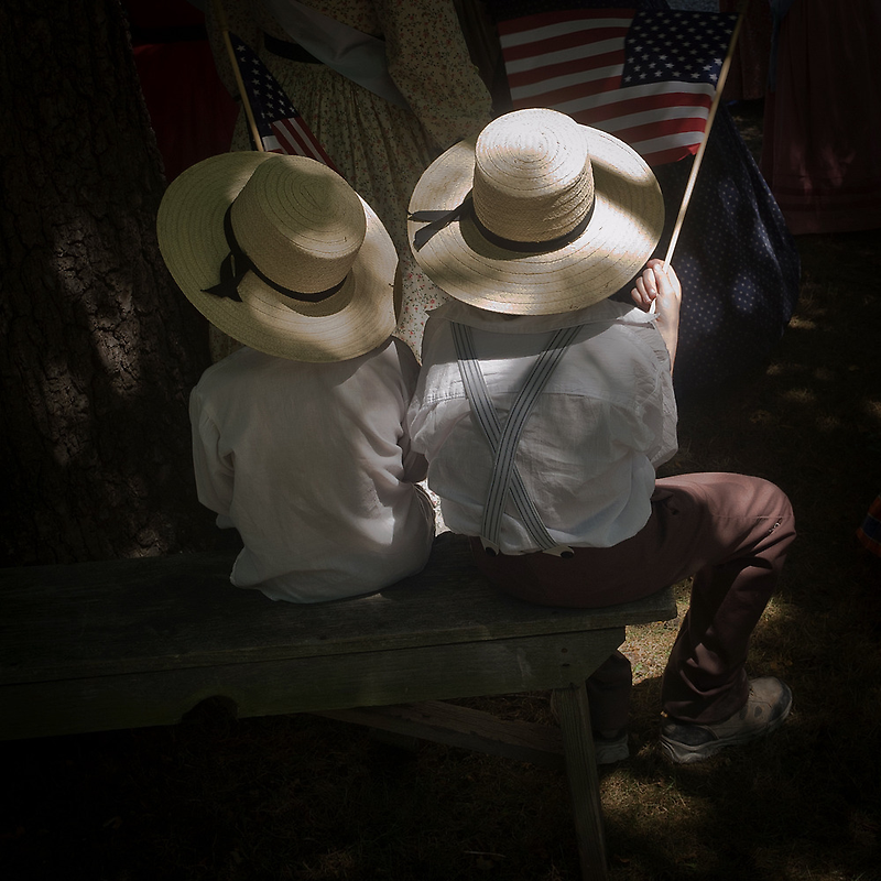 Brothers and Flags by Jean-Pierre Ducondi