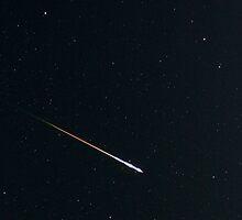 Perseid Meteor Shower by Carl M. Moore