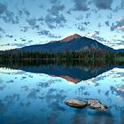 Lake Dillon at sunrise - Frisco, Summit County, Colorado by oakleydo