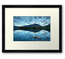 Lake Dillon at sunrise - Frisco, Summit County, Colorado Framed Print