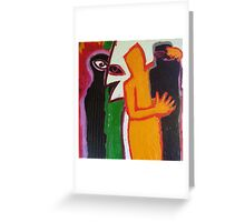 jealousy Greeting Card