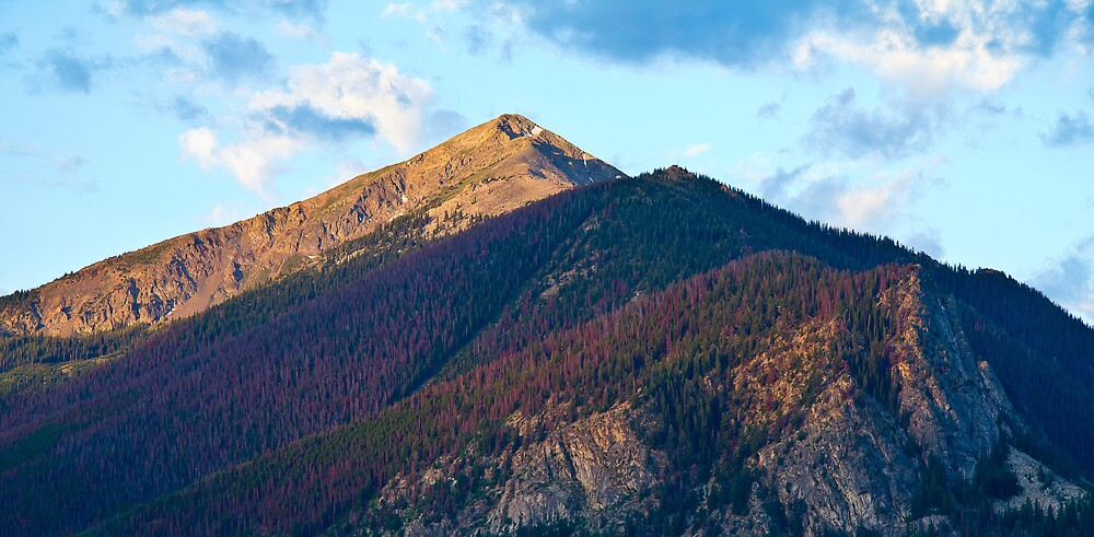 Mountain, Summit County, Colorado by oakleydo