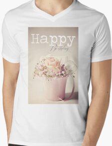 Time Stands Still (birthday) Mens V-Neck T-Shirt