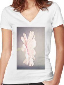 Your Secret's Safe With Me Women's Fitted V-Neck T-Shirt