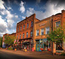 Downtown Jonesborough by C David Cook