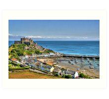 """Views over Gorey Bay, Jersey"" Art Print"