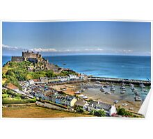 """Views over Gorey Bay, Jersey"" Poster"