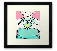 Believe in Steven Framed Print
