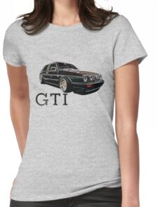 Mark 2 Volkswagen Golf GTI Womens Fitted T-Shirt
