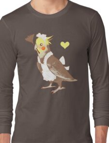 Cockatiel Maid Long Sleeve T-Shirt