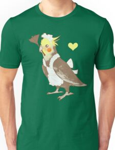 Cockatiel Maid T-Shirt
