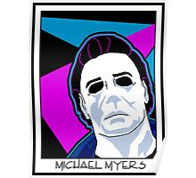 Michael Myers in the 80's Poster