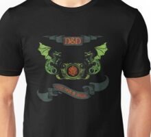 Here there Be Dragons Tee Unisex T-Shirt