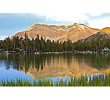 Colorful Mountain Reflection Photographic Print