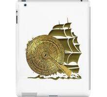 A Nocturnal Voyage At Sea iPad Case/Skin