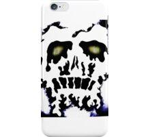 Melting skull number 2 iPhone Case/Skin