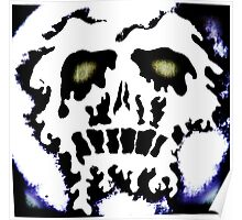Melting skull number 2 Poster
