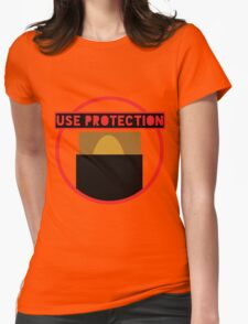 Use Protection MTG Womens Fitted T-Shirt