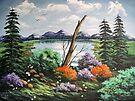 Across the Lake by teresa731