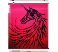 Unicorn of shadows number 2 iPad Case/Skin