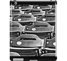 Stadium Seats - In Anticipation of  the Spectators for the Next Game iPad Case/Skin